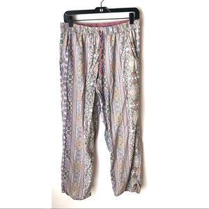 Victoria's Secret M Paisley Lounge Pajama Pants